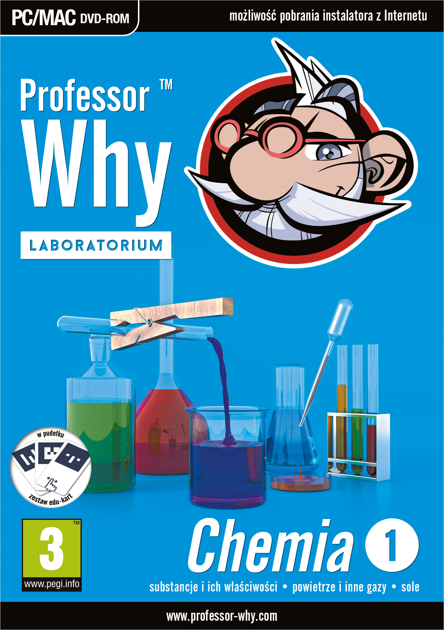 Professor Why Chemia 1 box