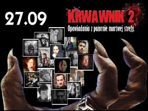 KRWAWNIK 2 Opowiadania z pozornie martwej strefy już we wtorek 27.09